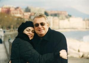 con Papà Napoli Christmas 2001