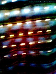 Light through blinds (f)