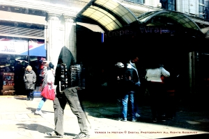 Walking Oxford Street